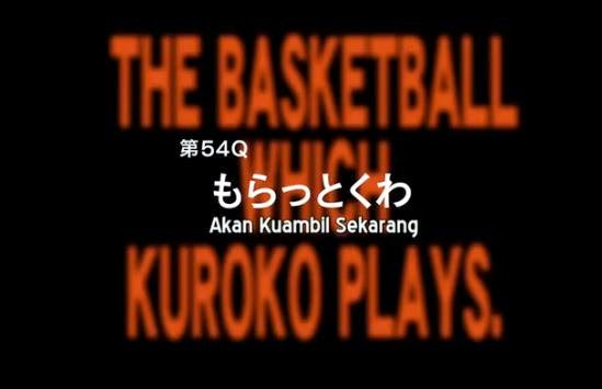 Review Kuroko No Basket season 3 Episode 4