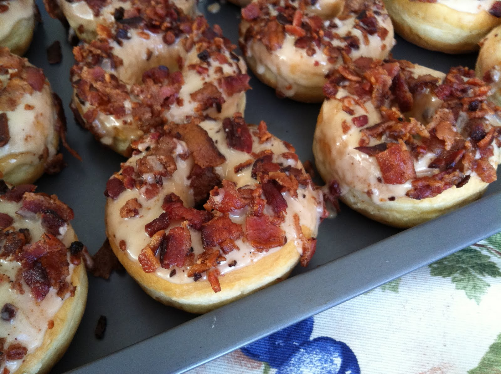 Maple Bacon Donuts- Enough Said. ~ Eating With Kirby