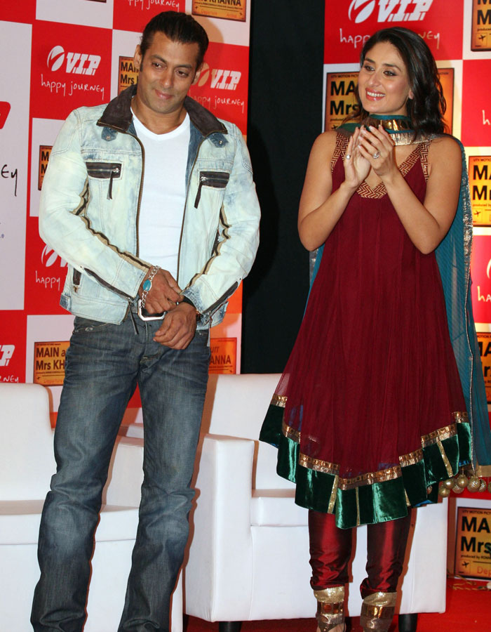 Salman Khan with Kareena Kapoor