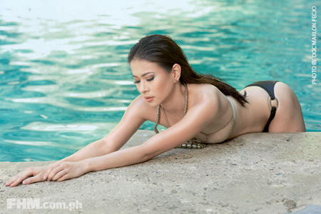 LJ Reyes bold and sexy on FHM February 2013 Issue
