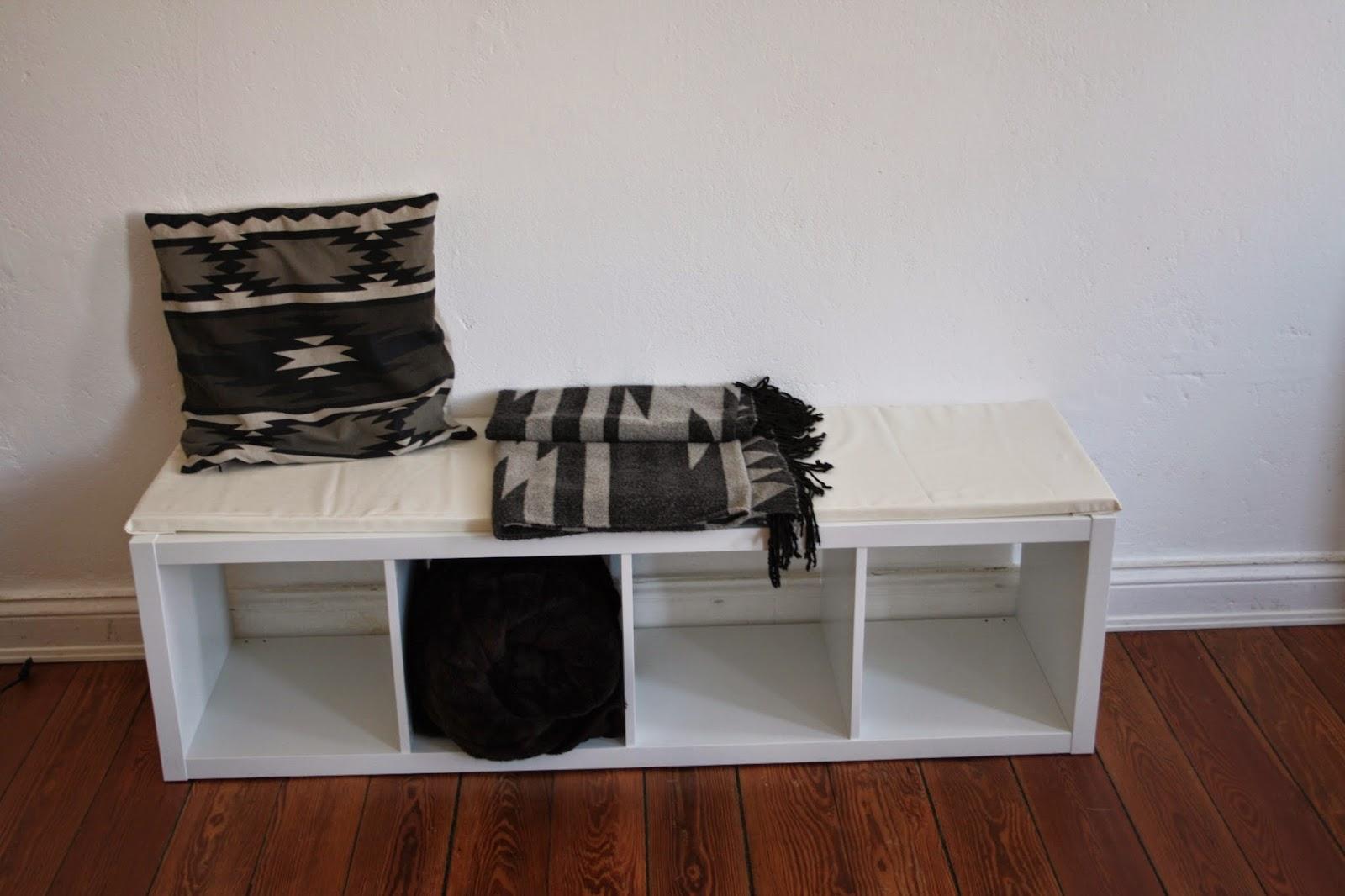 interior wie ihr aus einem langweiligen ikea regal eine stylische sitzbank macht fashion. Black Bedroom Furniture Sets. Home Design Ideas