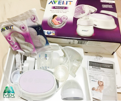 how to use philips avent manual breast pump