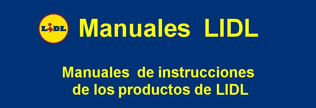 Manuales productos Lidl