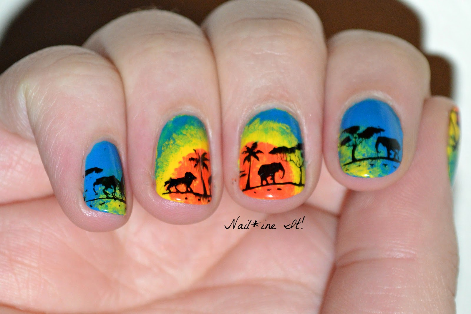 Nail Art Ideas Sunshine Nail Art Pictures Of Nail Art Design Ideas