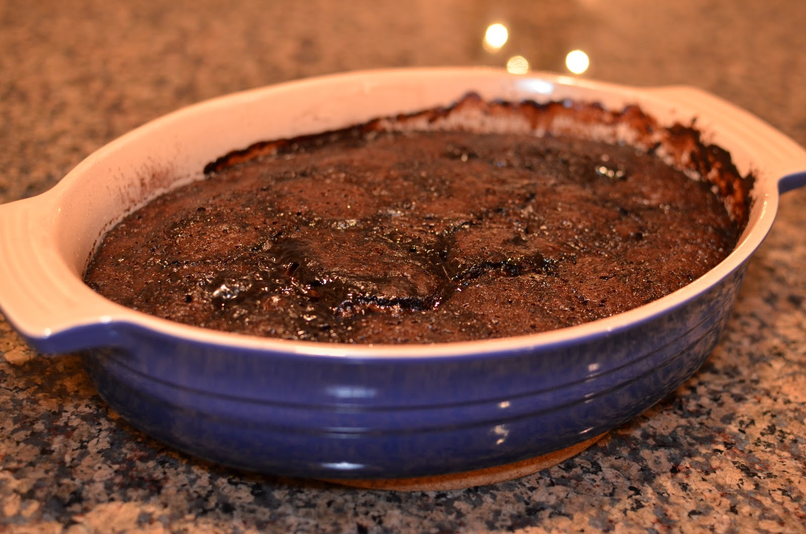 Playing with Flour: Warm chocolate pudding cake