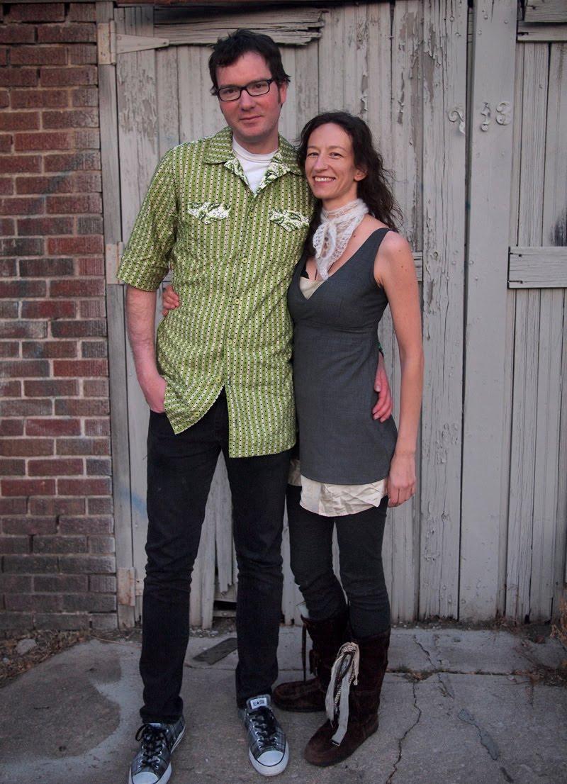 Luke's short-sleeved Collette Negroni