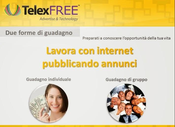 guadagnare con telexfree