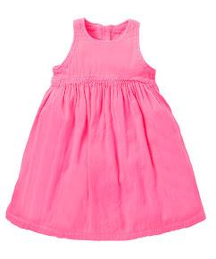 V. I. BAG IT NOW: Neon Pink Sleeveless Dress £14-£15 Mothercare