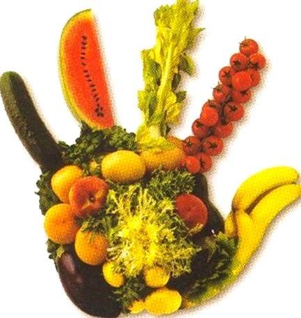 Imagen alusivo al Día Mundial de la Alimentación (La alimentación está en nuestras manos)