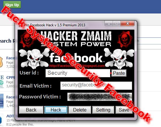 Pro Facebook Hack v 1.5 Premium 2016