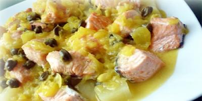 receta Ragout de Pescado