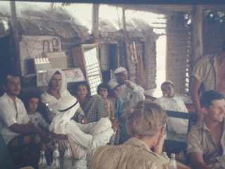 coffee shop at Dhaid old and rare picture