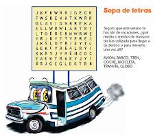 SOPAS DE LETRAS ON LINE
