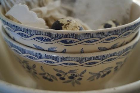 Blauw aardewerk