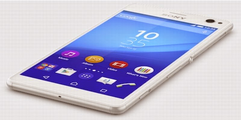 Xperia C4, Smartphone 4G Prosesor Octa-Core