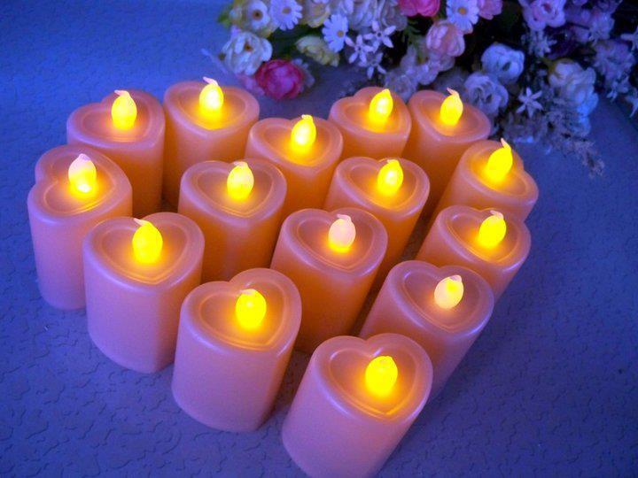 images pour blogs et facebook bougies romantiques. Black Bedroom Furniture Sets. Home Design Ideas