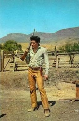 "Elvis w ""Flaming Star"""