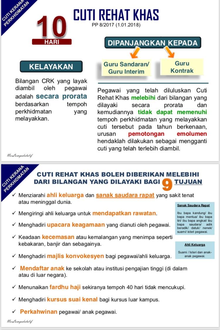 Majlis Guru Besar Selangor Cuti Rehat Khas