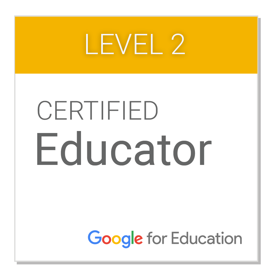 Google Level 2 Certified Educator