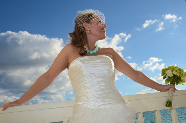 bridal portrait in Destin, Florida