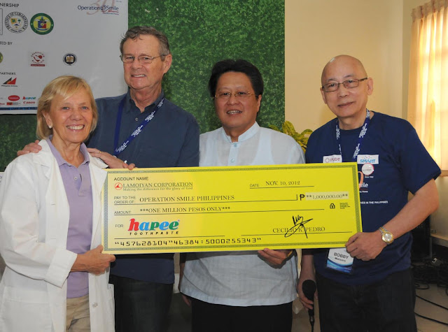 Lamoiyan Cororation brings Hapee smiles to Filipino kids