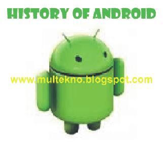 Sejarah Singkat Lahirnya Android