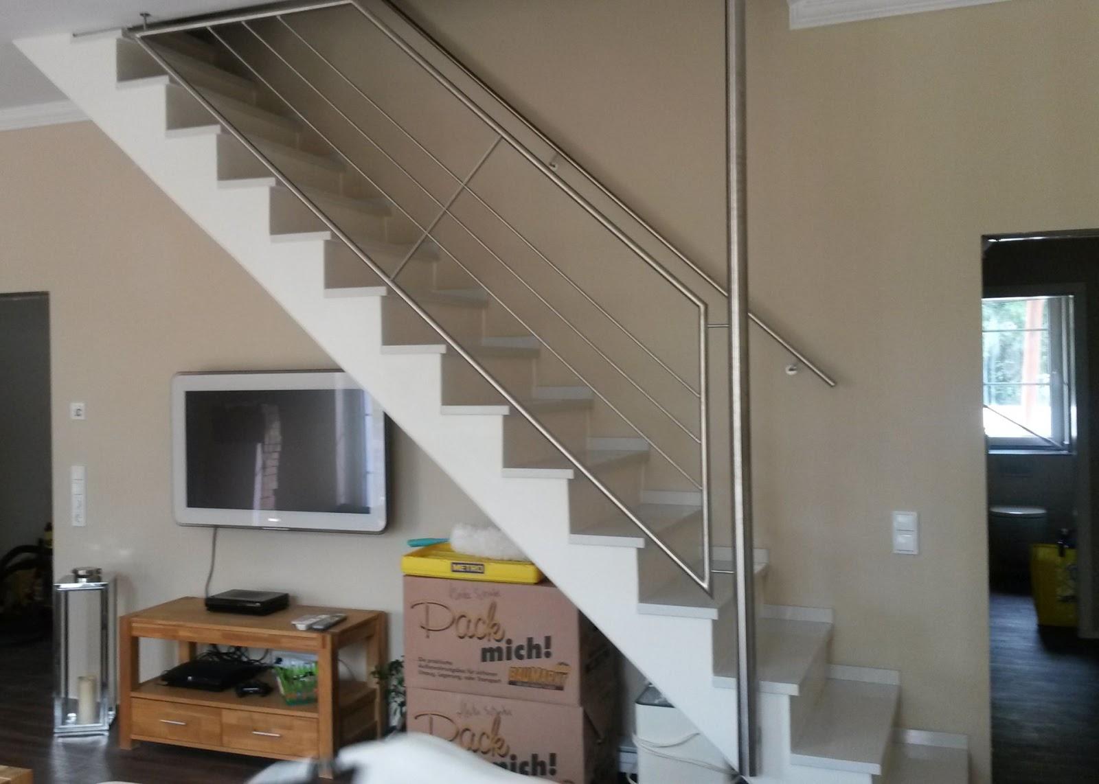 Absturzsicherung Treppe treppengeländer edelstahl fröbel metallbau