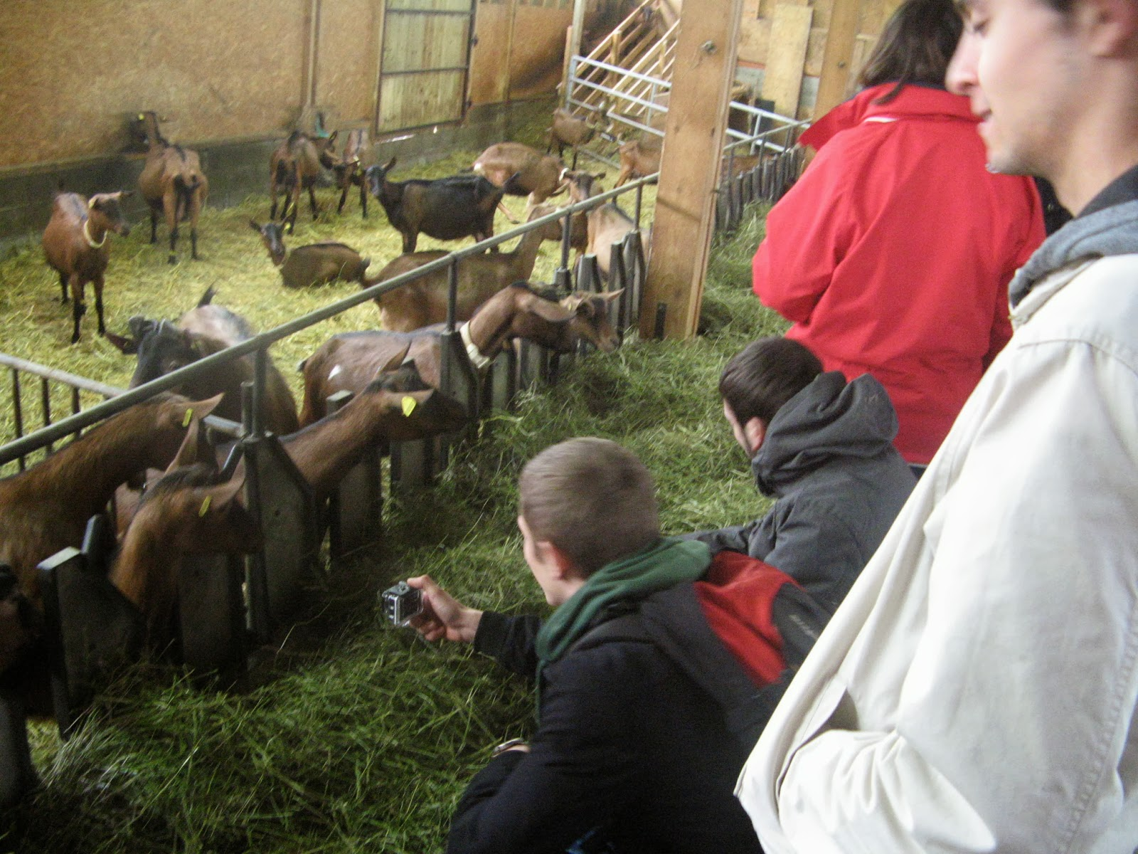 Rencontre avec agricultrices