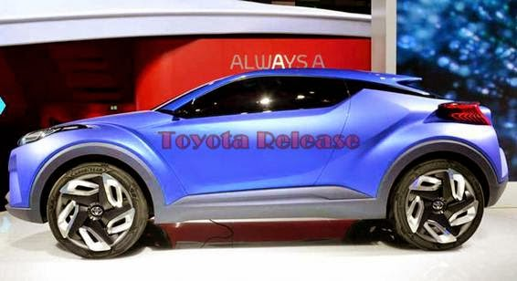 2016 Toyota C-HR Specs and Release Date