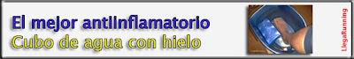 antiinflamatorio hielo lesión