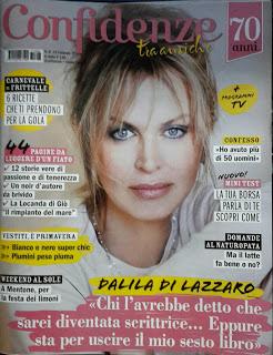 """Intervista settimanale """"Confidenze"""" n°8 del 15/02/2017"""