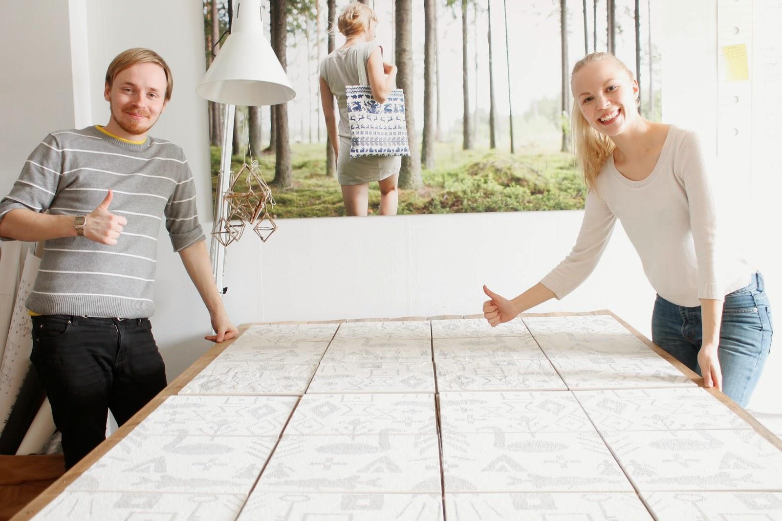 Saana Ja Olli : Keloranta laatat by saana ja olli