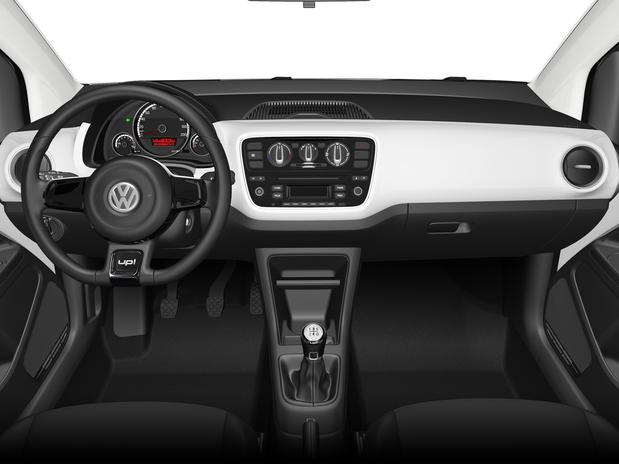 Volkswagen White-up - painel
