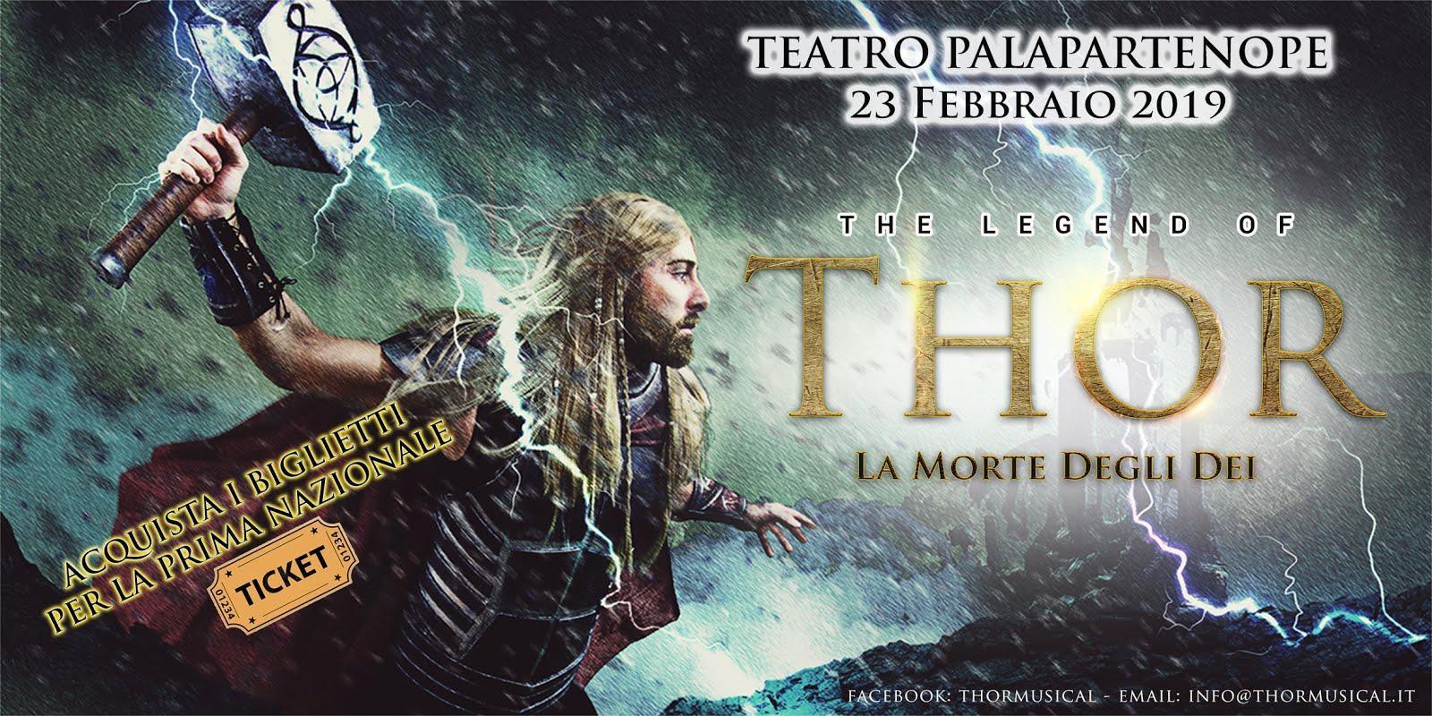 """LA LEGGENDA DI THOR"" regia di Antonello Ronga"