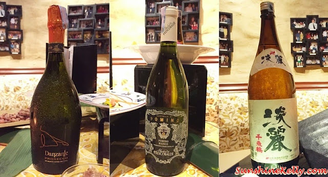 Danzante Prosecco, Frescobaldi Pomino Bianco Doc, 2013, Echigozakura Nihonshu, Chitosetsuru Tanrei, Italian & Japanese culinary affair, Vila Danieli, Sheraton Imperial KL, Frescobaldi wine, Japanese Sake