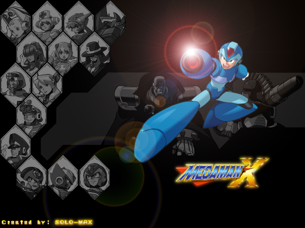 Megaman HD & Widescreen Wallpaper 0.794598727363877