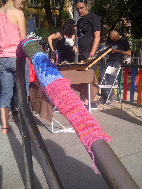 knitting Madrid