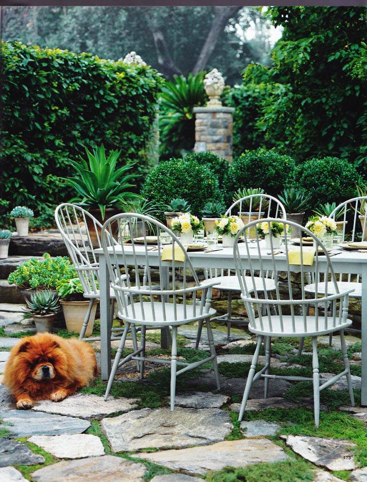 Thinking Outside The Boxwood: Summer Entertaining - Outdoor Dining ...