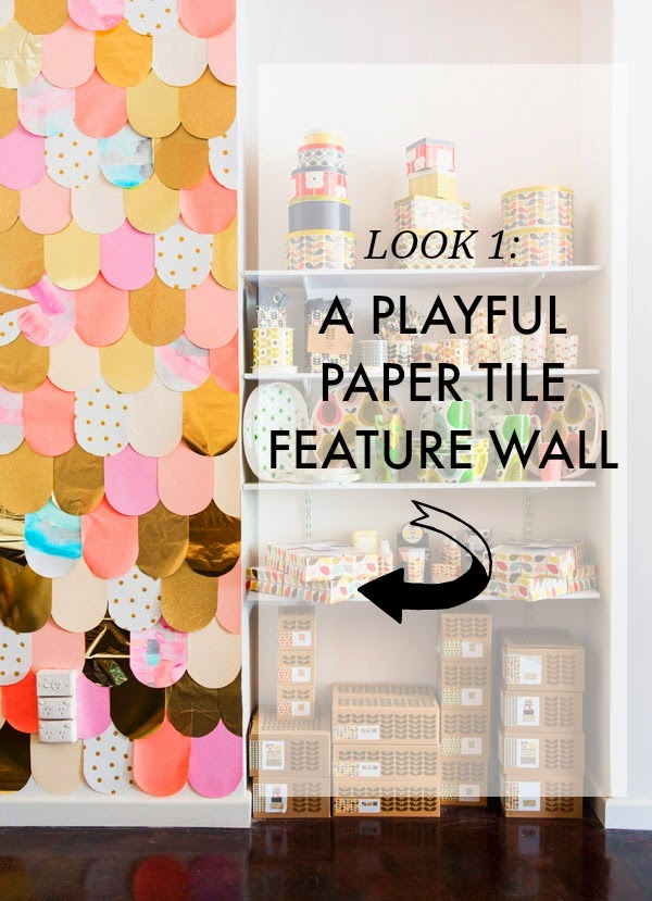 whimsical nursery feature wall ideas