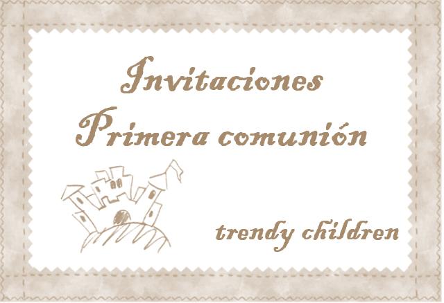 ... de invitaciones para primera comunion hay un poquito de todo desde la