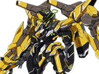 VALVRAVE mecha design missing two