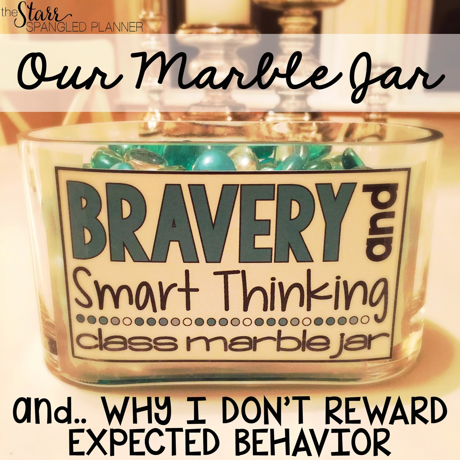 Classroom Marble Jar Ideas : Our marble jar why i don t reward expected behavior the