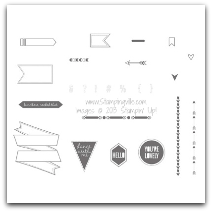 Stampin' Up! Show & Tell 1 Stamp Brush Set Digital Download