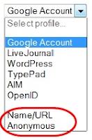 Cara Menambah Name dan Url pada Komentar Blog