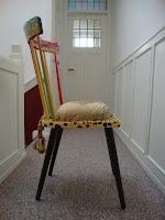 chaise cameroun fresque