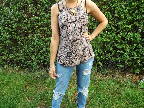 What Cat Wore: Paisley Rips