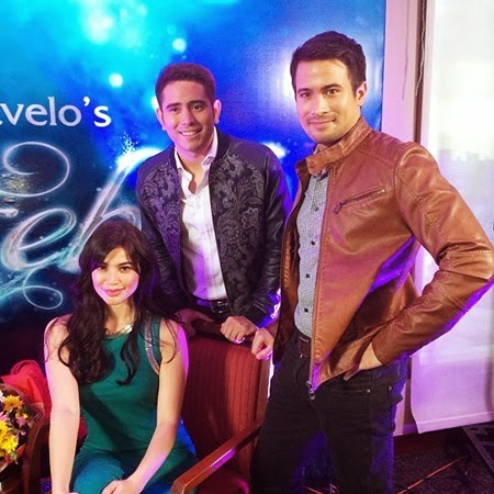 Anne Curtis as Dyesebel, Gerald Anderson as Fredo and Sam Milby as Liro in ABS-CBN's Dyesebel