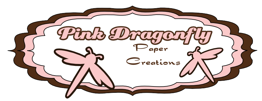Pink Dragonfly Paper Creations