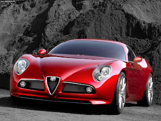 Car Wallpapers : Alfa Romeo 8C Wallpaper
