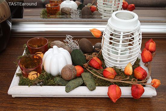TASTE around Herbstdeko Tipps zum Dekorieren und